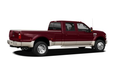 3/4 Rear Glamour  2010 Ford F-450