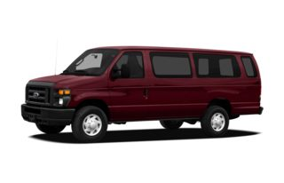 3/4 Front Glamour 2010 Ford E-250