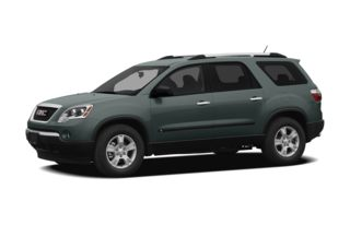 3/4 Front Glamour 2010 GMC Acadia