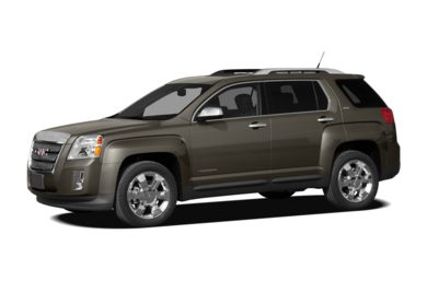 3/4 Front Glamour 2010 GMC Terrain