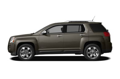 90 Degree Profile 2010 GMC Terrain