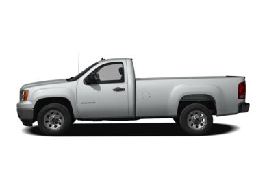 90 Degree Profile 2010 GMC Sierra 1500