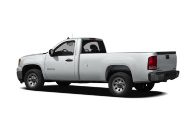 Surround 3/4 Rear - Drivers Side  2010 GMC Sierra 1500