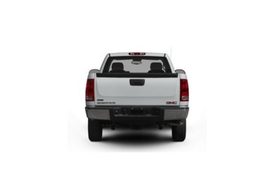 Surround Rear Profile 2010 GMC Sierra 1500