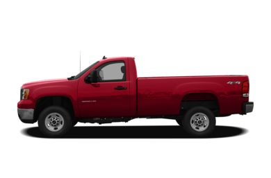 90 Degree Profile 2010 GMC Sierra 2500HD