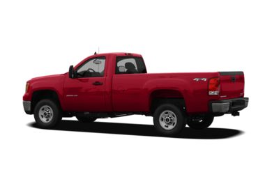 Surround 3/4 Rear - Drivers Side  2010 GMC Sierra 2500HD