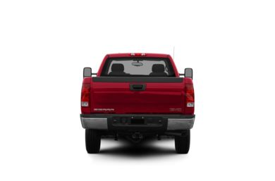 Surround Rear Profile 2010 GMC Sierra 2500HD