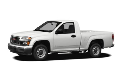 3/4 Front Glamour 2010 GMC Canyon