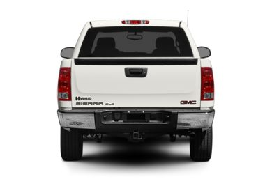 Rear Profile  2010 GMC Sierra 1500 Hybrid