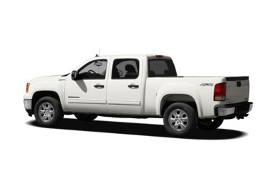 Surround 3/4 Rear - Drivers Side  2010 GMC Sierra 1500 Hybrid
