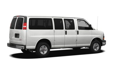 3/4 Rear Glamour  2010 GMC Savana 1500
