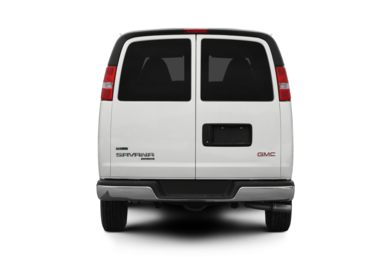 Rear Profile  2010 GMC Savana 1500