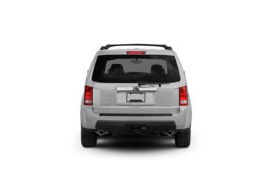 Surround Rear Profile 2010 Honda Pilot