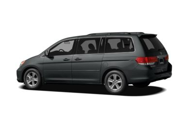Surround 3/4 Rear - Drivers Side  2010 Honda Odyssey