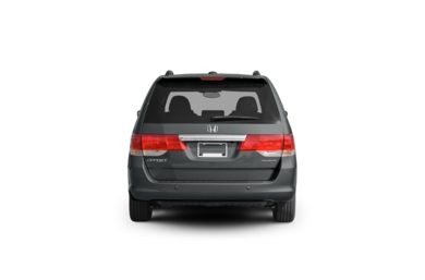 Surround Rear Profile 2010 Honda Odyssey