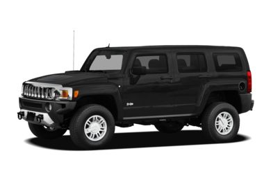 3/4 Front Glamour 2010 HUMMER H3 SUV