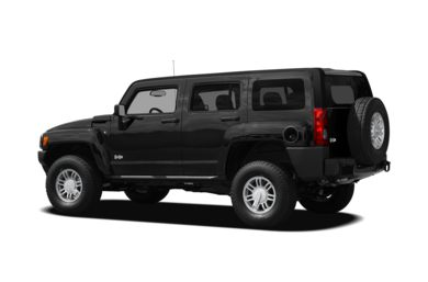 Surround 3/4 Rear - Drivers Side  2010 HUMMER H3 SUV