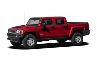 3/4 Front Glamour 2010 HUMMER H3T