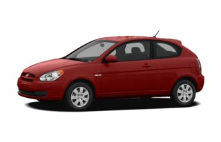 3/4 Front Glamour 2010 Hyundai Accent