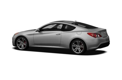 Surround 3/4 Rear - Drivers Side  2010 Hyundai Genesis Coupe