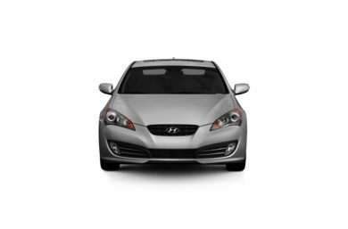Surround Front Profile  2010 Hyundai Genesis Coupe