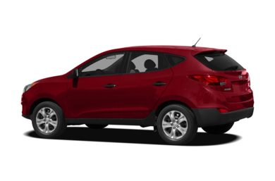 Surround 3/4 Rear - Drivers Side  2010 Hyundai Tucson