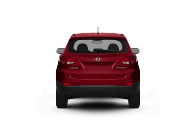 Surround Rear Profile 2010 Hyundai Tucson