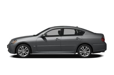 90 Degree Profile 2010 Infiniti M35x