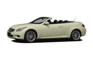 3/4 Front Glamour 2010 Infiniti G37 Convertible