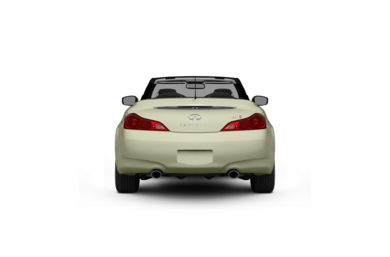 Surround Rear Profile 2010 INFINITI G37 Convertible