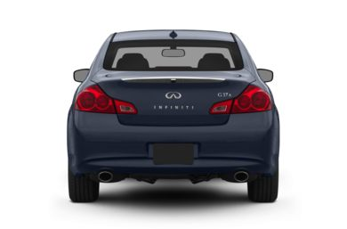 Rear Profile  2010 Infiniti G37 Sedan