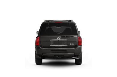Surround Rear Profile 2010 Infiniti QX56