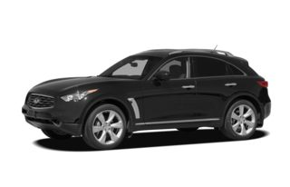 3/4 Front Glamour 2010 Infiniti FX50