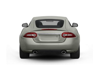 Rear Profile  2010 Jaguar XK