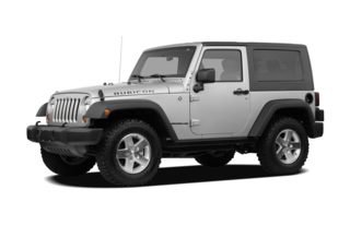 3/4 Front Glamour 2010 Jeep Wrangler