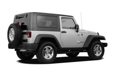3/4 Rear Glamour  2010 Jeep Wrangler