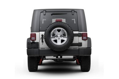 Rear Profile  2010 Jeep Wrangler