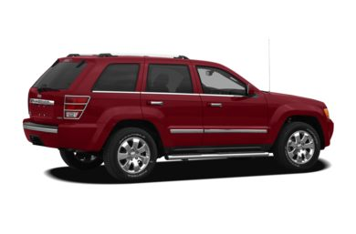 3/4 Rear Glamour  2010 Jeep Grand Cherokee