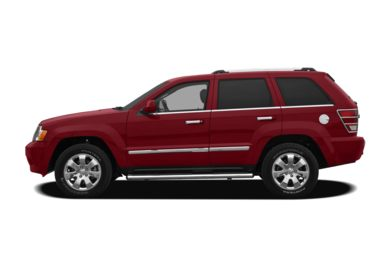 90 Degree Profile 2010 Jeep Grand Cherokee