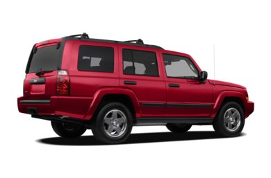 3/4 Rear Glamour  2010 Jeep Commander