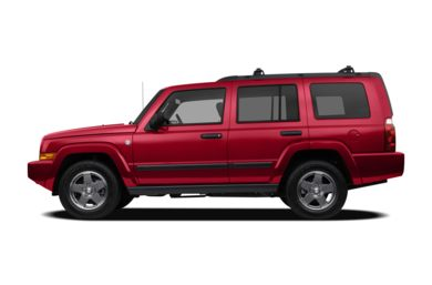 90 Degree Profile 2010 Jeep Commander