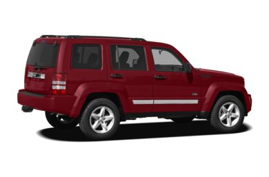 3/4 Rear Glamour  2010 Jeep Liberty