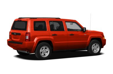 3/4 Rear Glamour  2010 Jeep Patriot