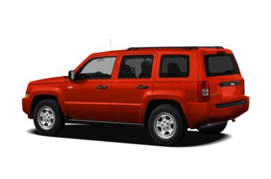 Surround 3/4 Rear - Drivers Side  2010 Jeep Patriot