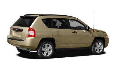 3/4 Rear Glamour  2010 Jeep Compass
