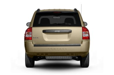 Rear Profile  2010 Jeep Compass