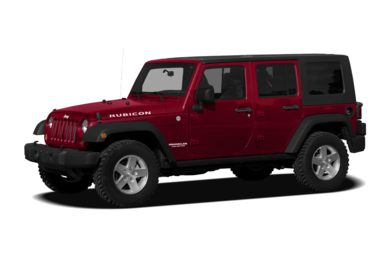 3/4 Front Glamour 2010 Jeep Wrangler Unlimited