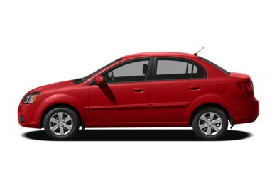 90 Degree Profile 2010 Kia Rio