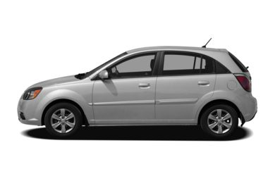 90 Degree Profile 2010 Kia Rio5