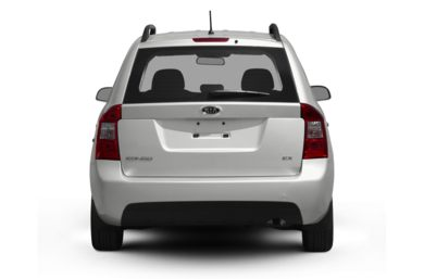 Rear Profile  2010 Kia Rondo